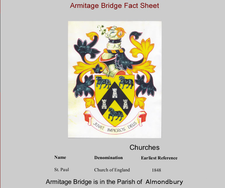 Armitage Bridge Fact Sheet